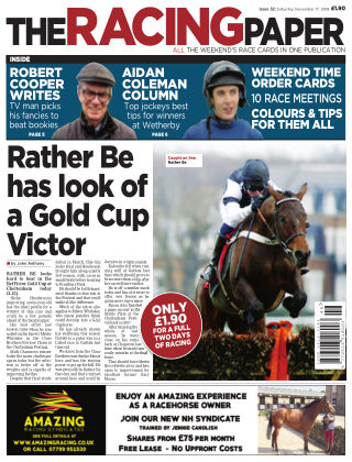 The Racing Paper 17th November 2018
