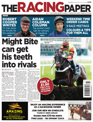 The Racing Paper 24th November 2018