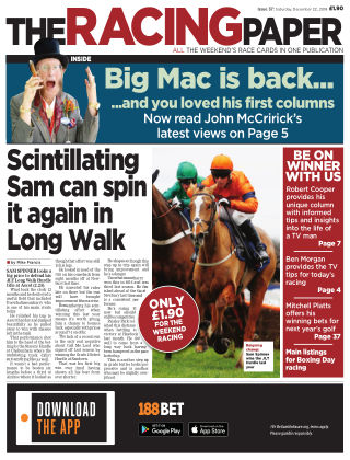 The Racing Paper 22nd December 2018