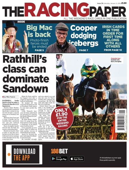 The Racing Paper January 05, 2019 00:00