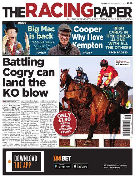 The Racing Paper January 12, 2019 00:00