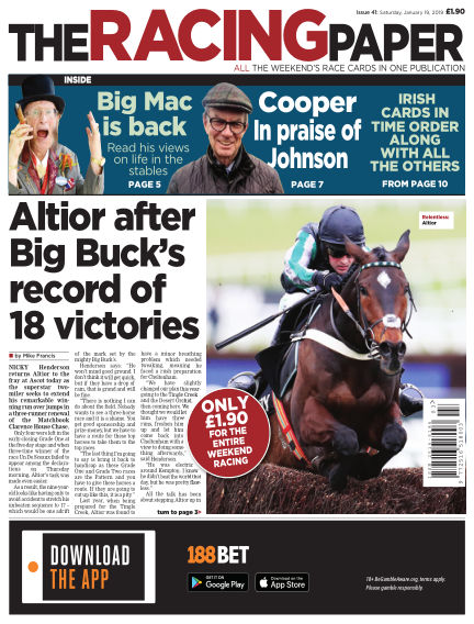 The Racing Paper January 19, 2019 00:00