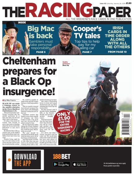 The Racing Paper January 26, 2019 00:00