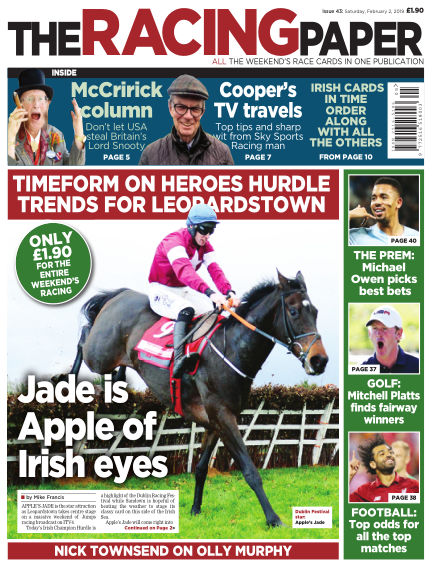 The Racing Paper February 02, 2019 00:00