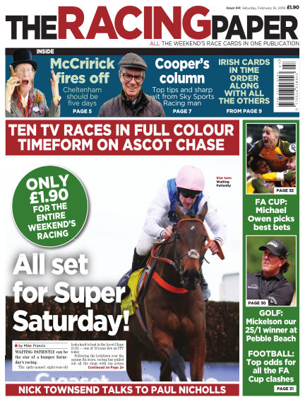 The Racing Paper February 16, 2019 00:00