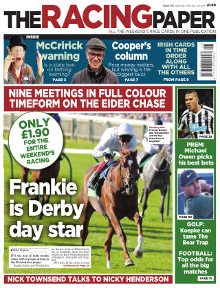 The Racing Paper 23rd February 2019