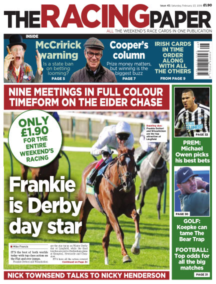 The Racing Paper February 23, 2019 00:00