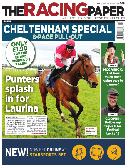 The Racing Paper March 09, 2019 00:00