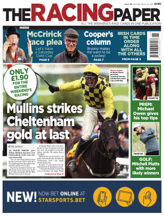 The Racing Paper 16th March 2019