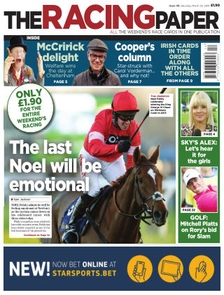 The Racing Paper 23rd March 2019