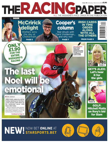 The Racing Paper March 23, 2019 00:00