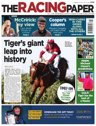 The Racing Paper 6th April 2019