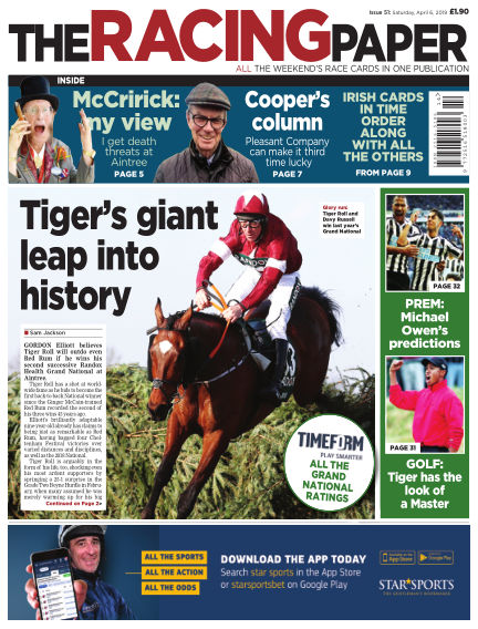 The Racing Paper April 06, 2019 00:00