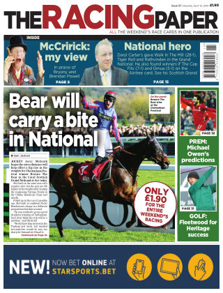 The Racing Paper 13th April 2019