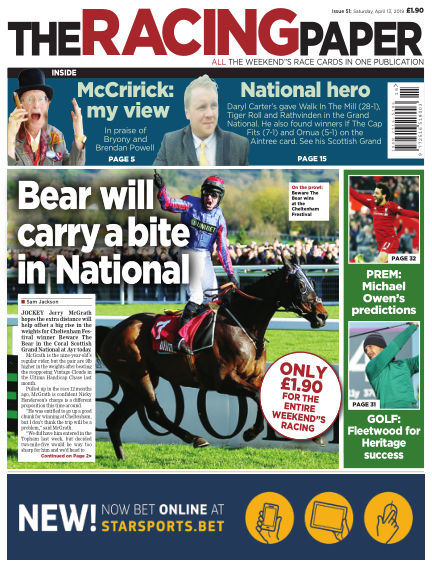 The Racing Paper April 13, 2019 00:00