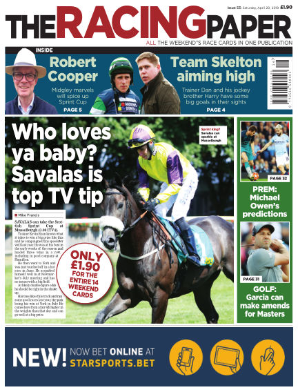 The Racing Paper April 20, 2019 00:00