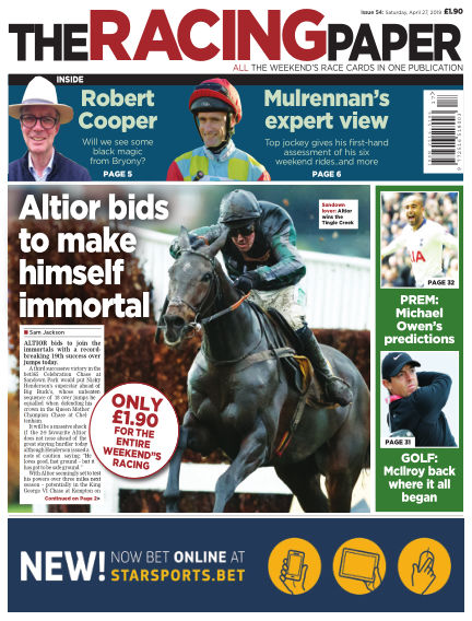 The Racing Paper April 27, 2019 00:00