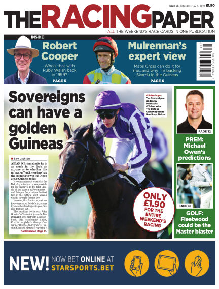 The Racing Paper May 04, 2019 00:00