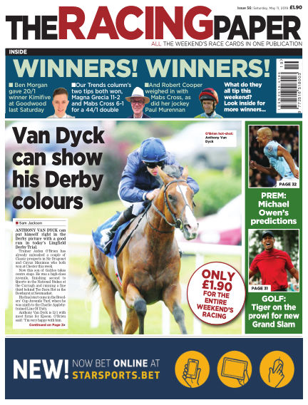The Racing Paper May 11, 2019 00:00