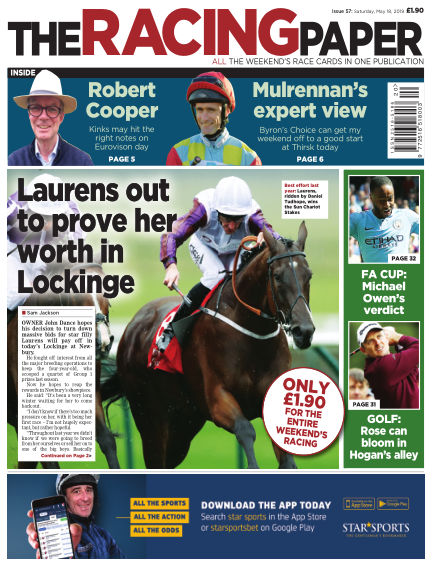 The Racing Paper May 18, 2019 00:00