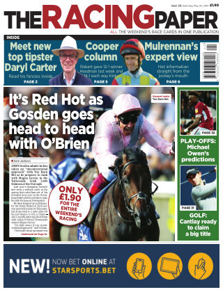 The Racing Paper 25th May 2019