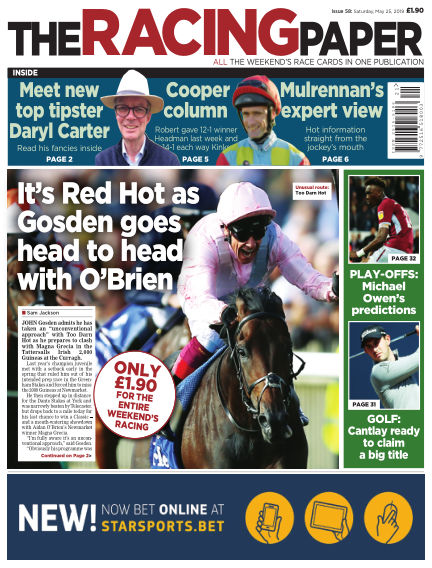 The Racing Paper May 25, 2019 00:00