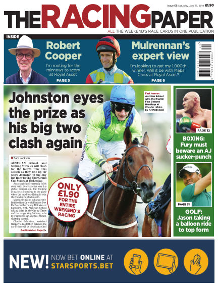 The Racing Paper June 15, 2019 00:00