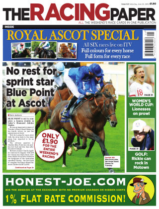 The Racing Paper 22nd June 2019