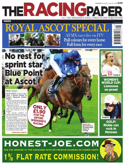 The Racing Paper June 22, 2019 00:00