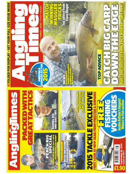 Angling Times September 16, 2014 00:00