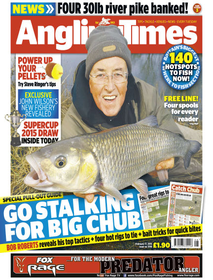 Angling Times February 17, 2015 00:00