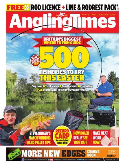 Angling Times March 31, 2015 00:00