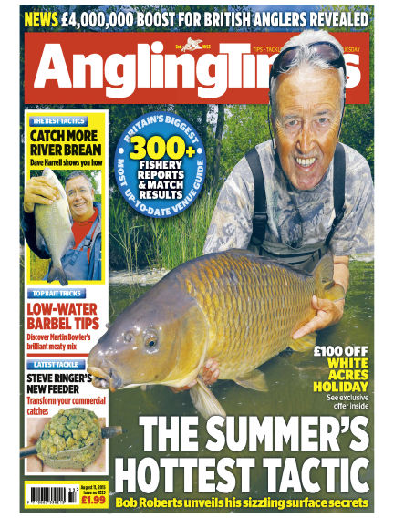 Angling Times August 11, 2015 00:00