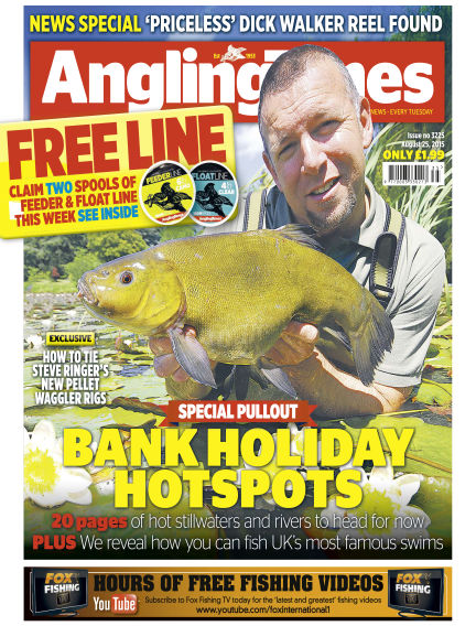 Angling Times August 25, 2015 00:00