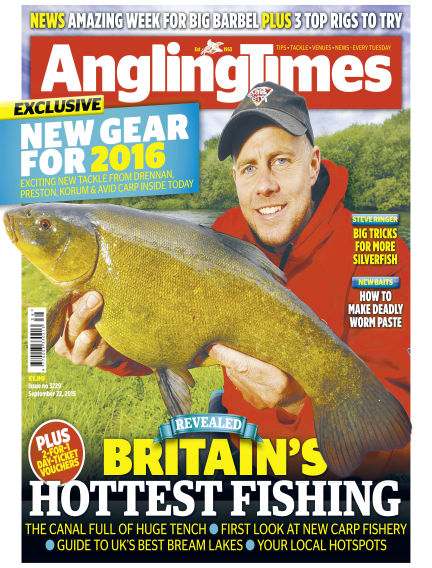 Angling Times September 22, 2015 00:00