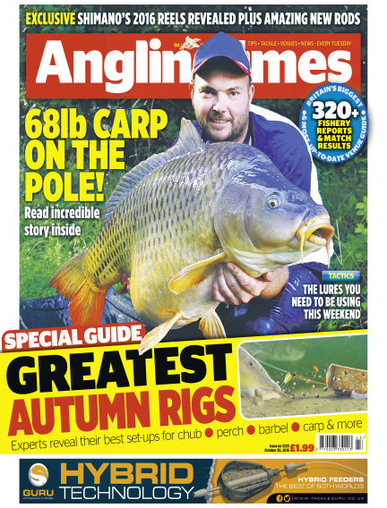 Angling Times October 20, 2015 00:00