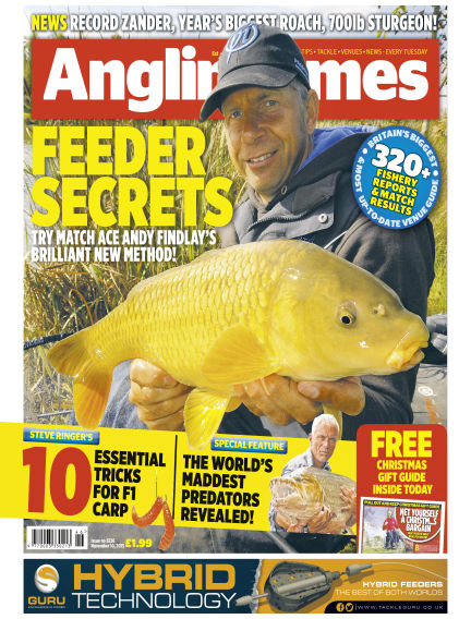 Angling Times November 10, 2015 00:00