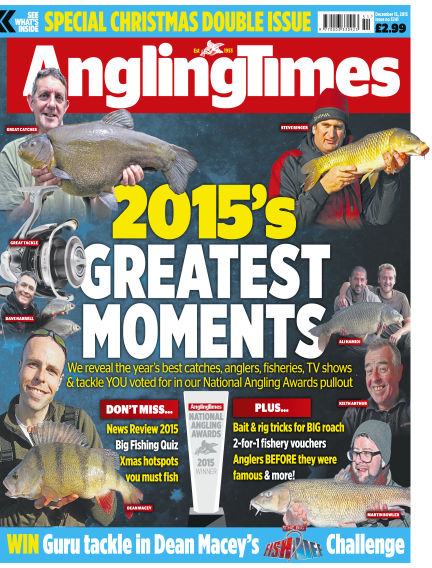 Angling Times December 15, 2015 00:00
