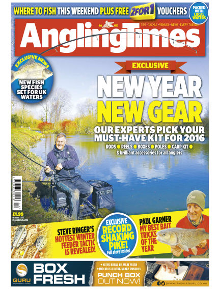 Angling Times December 29, 2015 00:00