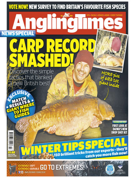 Angling Times January 19, 2016 00:00