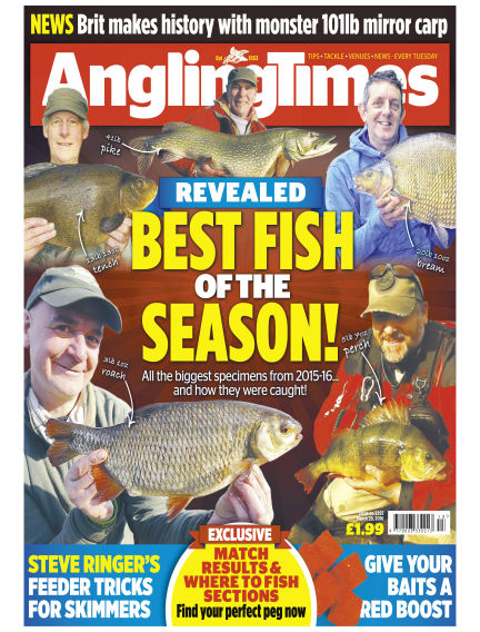 Angling Times March 29, 2016 00:00