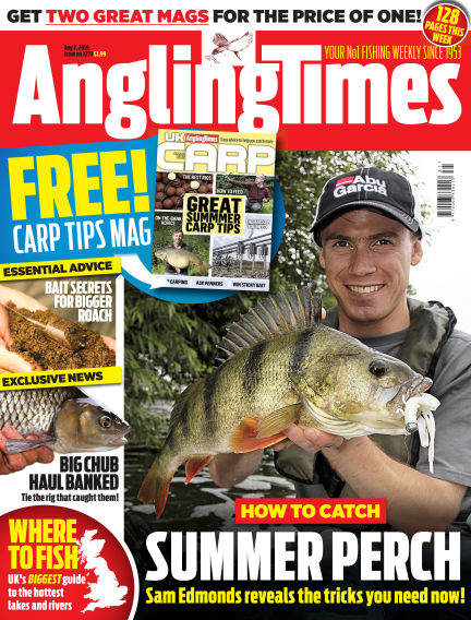 Angling Times August 02, 2016 00:00