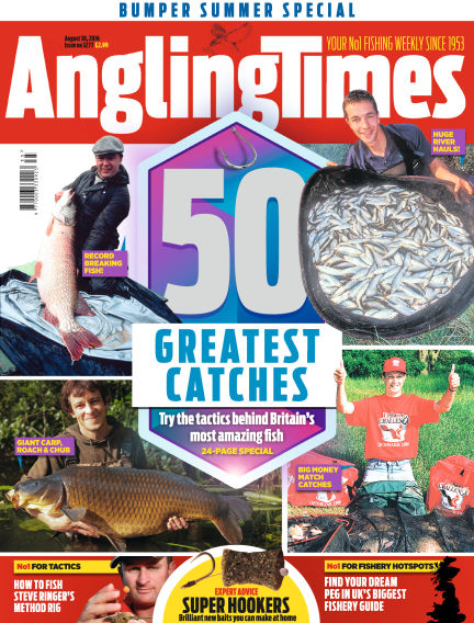 Angling Times August 30, 2016 00:00