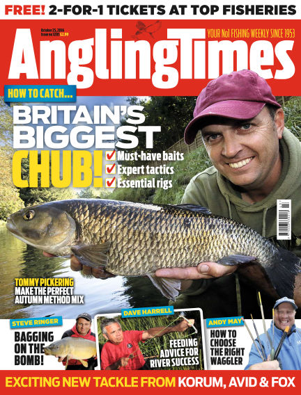 Angling Times October 25, 2016 00:00