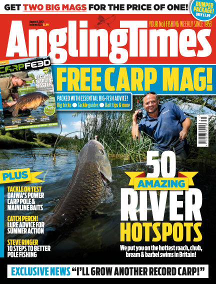 Angling Times August 01, 2017 00:00