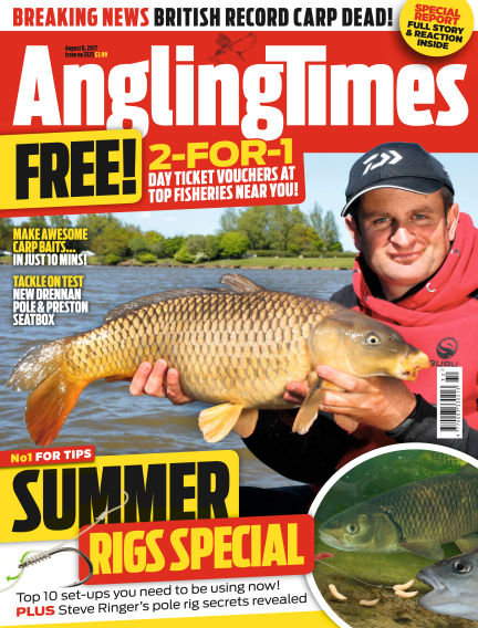 Angling Times August 08, 2017 00:00