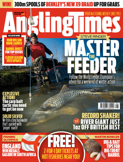 Angling Times February 26, 2019 00:00