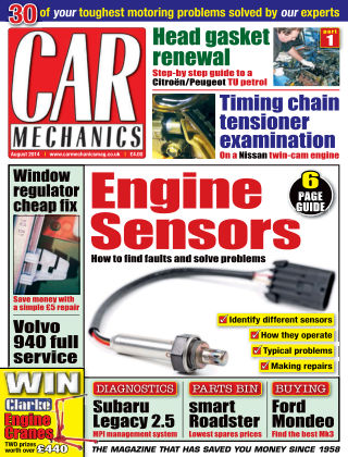 Car Mechanics August 2014