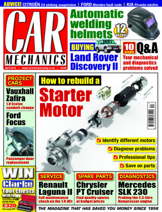 Car Mechanics April 2014