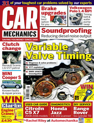 Car Mechanics August 2016